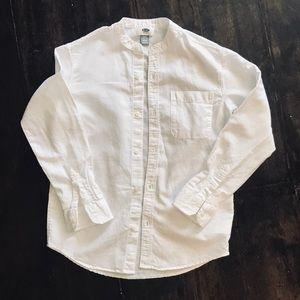 Boys Button up Linen/cotton shirt Like New
